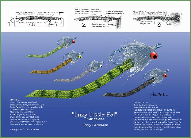 Lazy Little Eel - Terry Edelmann